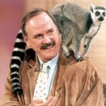 John Cleese and Ring-Tailed Lemur