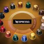 Nespresso coffe capsules