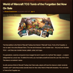 Blizzard Blog