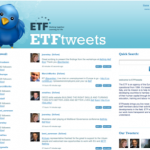 ETF Twitter page